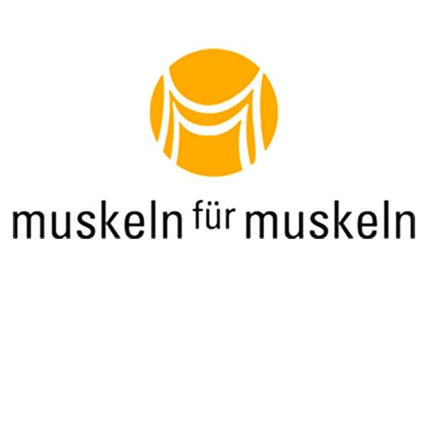 logo von muskeln für muskeln