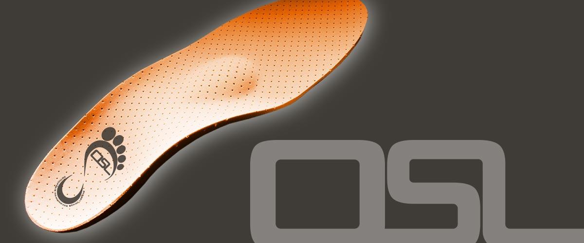 massgefertigte OSL Schuheinlagen
