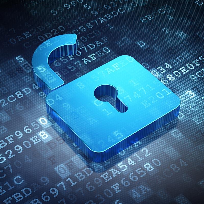 Schmuckbild zum Thema Datenschutz