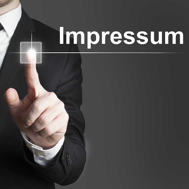 Schmuckbild zum Thema Impressum