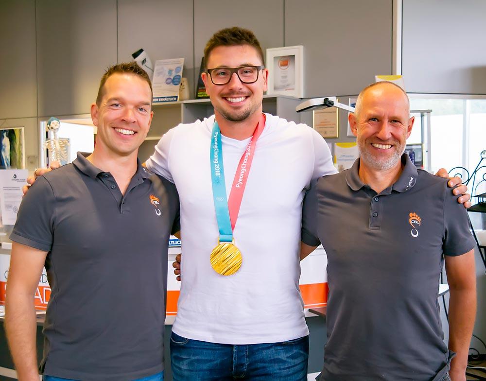 Andreas Lorenz, Alex Kopacz und Stefan Schad